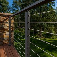 deck railings stainless steel cable railing