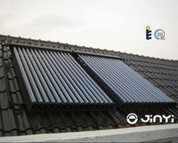 Hot Sale Top Efficiency 30 Tubes High Pressurized Evacuated Tube Certified Solar Collector
