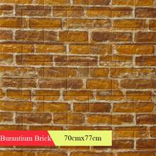 Обои 3D ретро имитация кирпичной стены Декор для дома для гостиной спальни ресторана настенные наклейки(Китай)