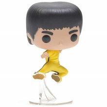 FUNKO POP аниме Ограниченная серия король кунг-фу Брюс Ли виниловые Фигурки Коллекционная модель игрушки для детей Рождественский подарок(Китай)