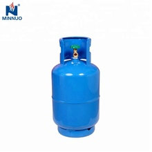 BV DOT CE ISO4706 25lbs 12.5kg 26.5L lege <span class=keywords><strong>lpg</strong></span>/propaan/butaan gas cilinder/tank voor Haïti dominica zuid-amerika