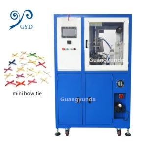 High Speed Clothing Accessories Bow Making Machine Mini Ribbon Bow Making Machine