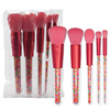 PU bag+5 pcs brush
