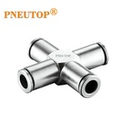 Copper fittingUnion straight ,elbow Brass nickel plated Pneumatic Push in fitting copper press fittings tube fittings