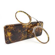 Мини-очки для чтения с зажимом для носа, мужские и женские очки для чтения, очки по рецепту, без бакенбардов, пензес(Китай)