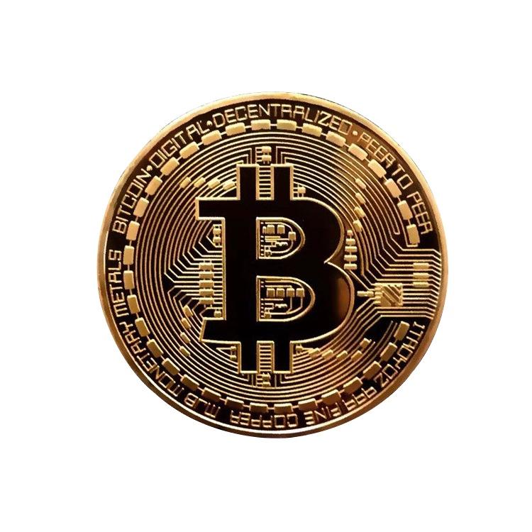 Hot Koop Aangepaste Goedkope Bitcoin Herdenkingsmunt Metalen Munten