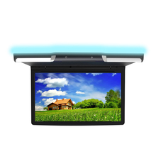 13.3 ''polegadas Monitor de Teto Do Carro Flip Down Roof Mount Monitor LCD Suporte do Sistema Android 7.1 O.S, cartão USB/TF, FM Bluetooth