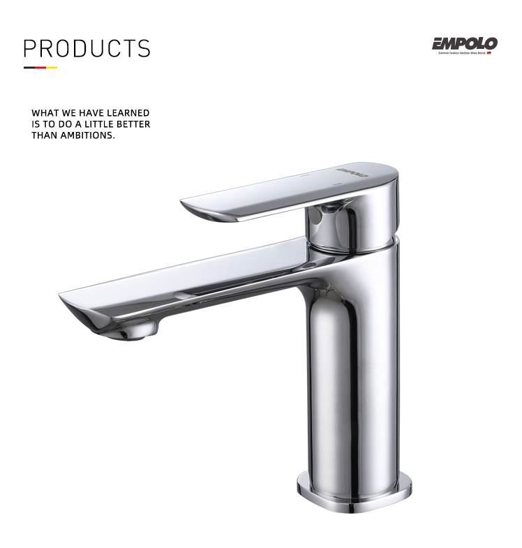 EMPOLO Basin Faucets Bathroom Cold Hot Water Taps Single lever Mixers 86 1101