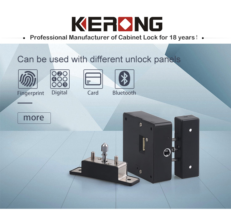 KERONG Electronic Smart rfid Cad Reading Lock for Drawer