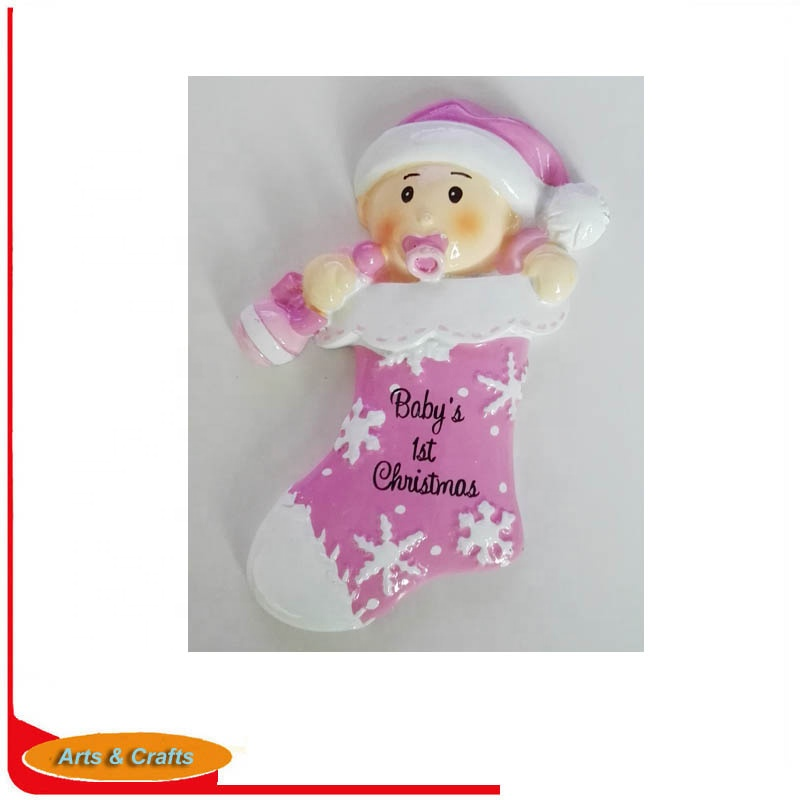 Personalized Ornament <strong>Baby</strong> With <strong>Christmas</strong> Ball For <strong>Baby's</strong> <strong>First</strong> <strong>Christmas</strong>