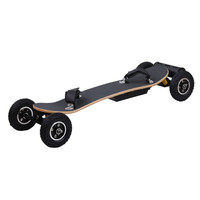 high speed 50km/h electric mountain board dual motor off road electric skate board with LG lithium battery