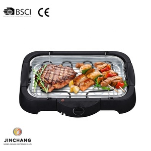 Jinchang BQ228-B 2000W electric heating smokeless indoor grill bbq with water tray