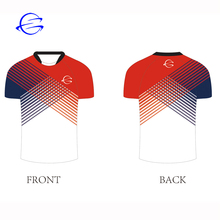 Ontwerp Uw Eigen <span class=keywords><strong>Rugby</strong></span> Pak Polyester Sublimatie Korte Mouwen Voetbal Wear Custom <span class=keywords><strong>Rugby</strong></span> <span class=keywords><strong>Jersey</strong></span> Shirt Training Wear