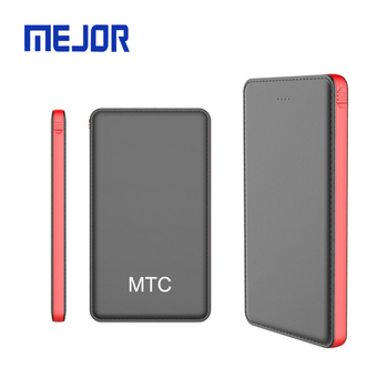 Easy use business Card powerbank carta portable Carte phone charger kort usb power bank 10000mah