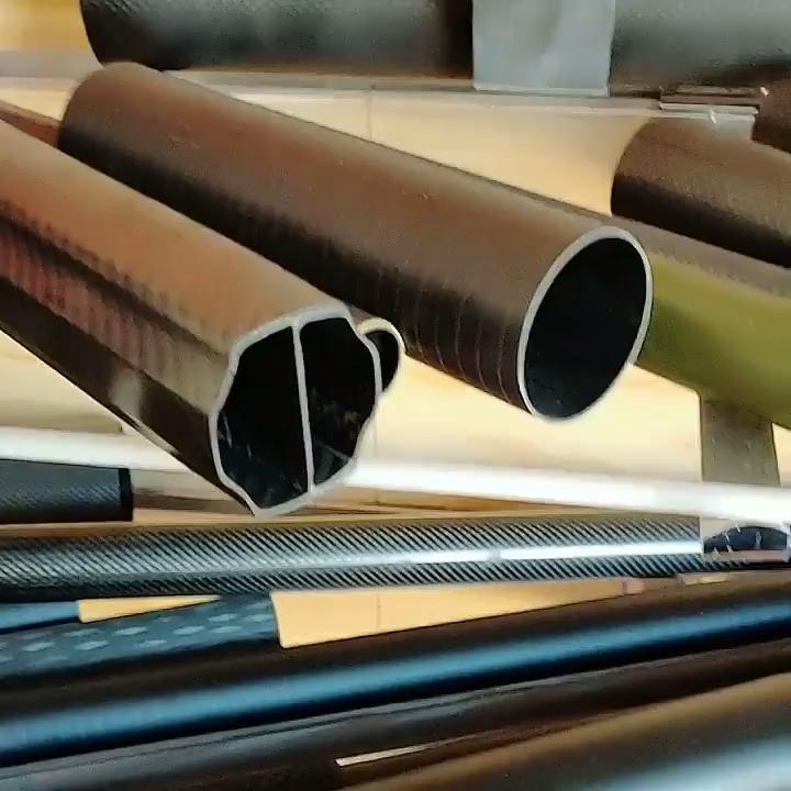 Китай поставщик высокое качество кованые трубы из углеродного волокна для оптовой продажи