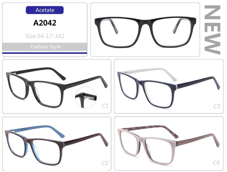 mens acetate metal optical frames