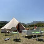 large luxury glamping bell tents resort tent luxury hotel canvas tents glamping for family