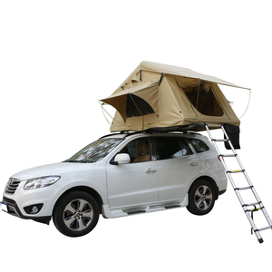 Hot sale outdoor Travel Double Foldable Camping Car Roof Top Tent