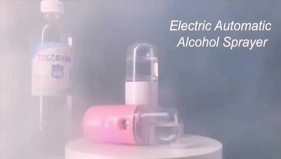 30ml נייד כף יד עור טיפול מכשיר כיס מיני ננו ערפל ספריי, עבור אלכוהול חיטוי רב שימוש חשמלי מרסס בקבוק