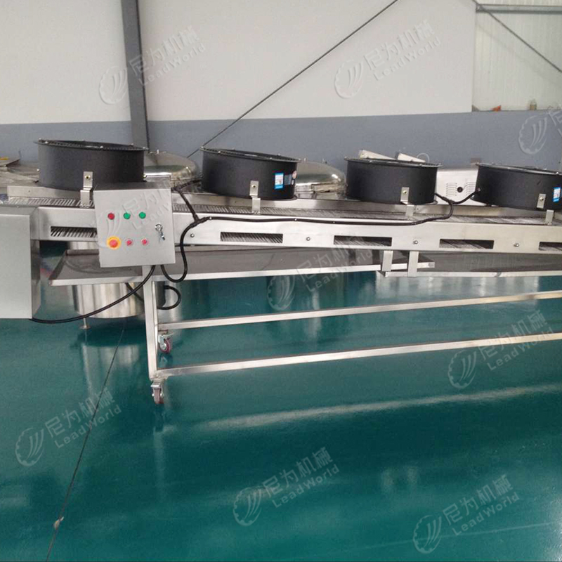 Canned fish production line for tuna, hairtail, and dace