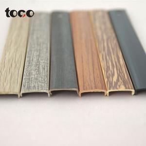 Plastic u shaped plywood u molding pvc rubber cabinet edge  wood trim bamboo furniture strips u shaped chrome plastic trim