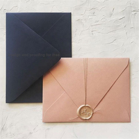 Custom Design High Quality Wedding Cards And Envelopes For Invitation Card Luxury Wedding Invitation Envelope