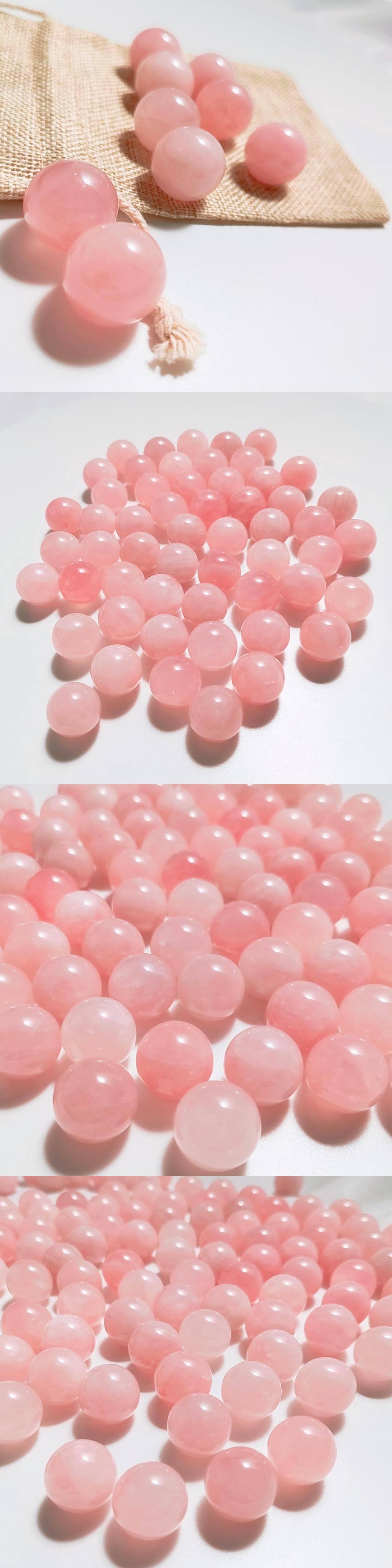 Best high quality therapy stone mini eye care rose quartz nephrite anti aging facial natural jade ball eye roller