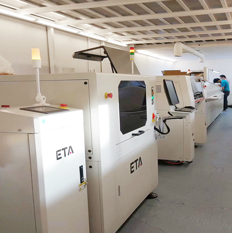 ETA High Speed SMT Production Assembly line / SMD Mounting Machine and LED Strip Light Production Line