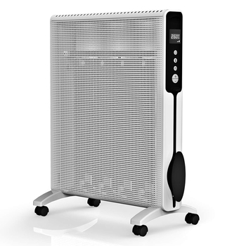 Best selling imports metal mesh infrared panel heater with wheels for foom use
