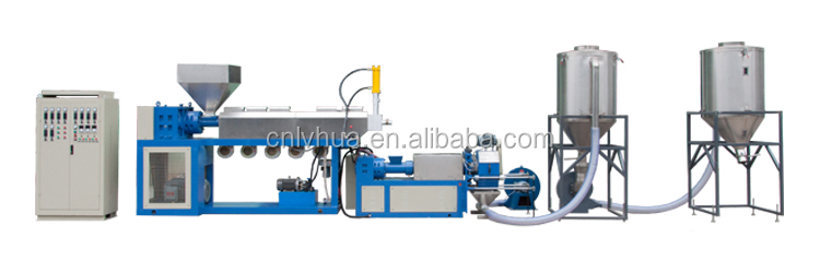 CE ISO standard Experienced Factory  Reasonable Price  Protecting Screw PVC Recycling Pelletizing machine