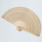 custom chinese wedding favors wooden folding hand fan colorde