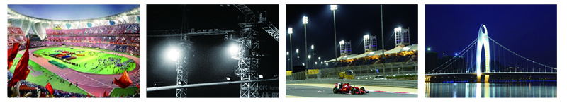 High lumen ip66 outdoor 300w 800w stadium led light outdoor led stadium flood light for sport field