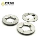 OEM/ODM manufacturer customize O shape spring clips iron bolts nut slotted washers locking clamps shim