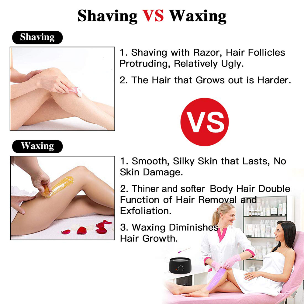 Hair Removal Tool Wax Heater Professional waxing machine kit for hair removal VIP DROPSHIPPING