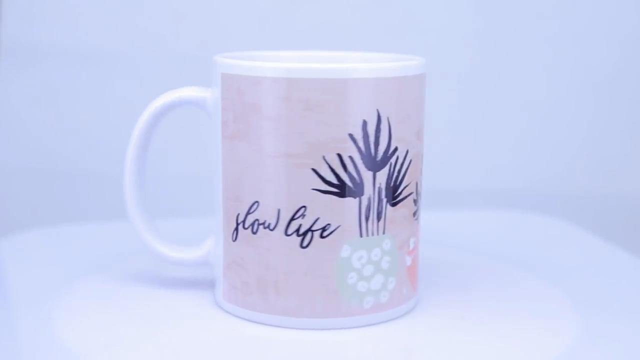 En kaliteli 11oz beyaz süblimasyon özel seramik kupa kahve kupa