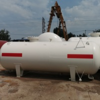 Pressure Vessel LPG gas Tank Propane Storage Tank Used in Gas Station