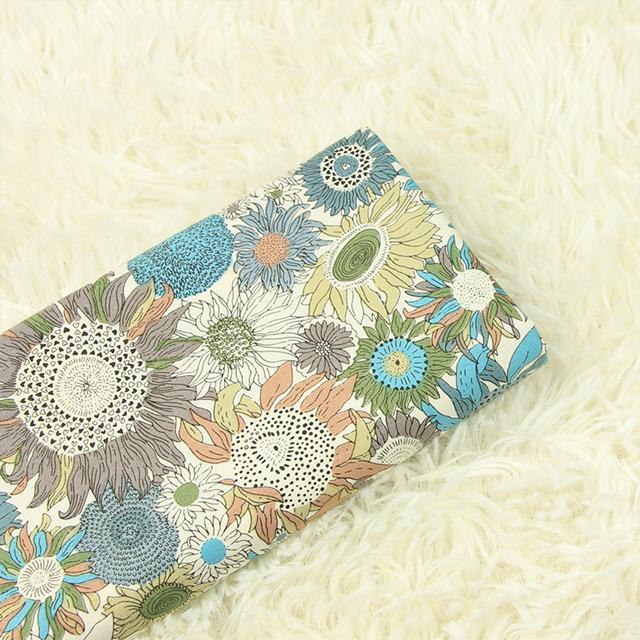 NO MOQ custom printed cotton fabric