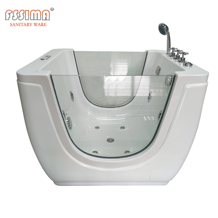 square small size freestanding baby bath of tub baby spa