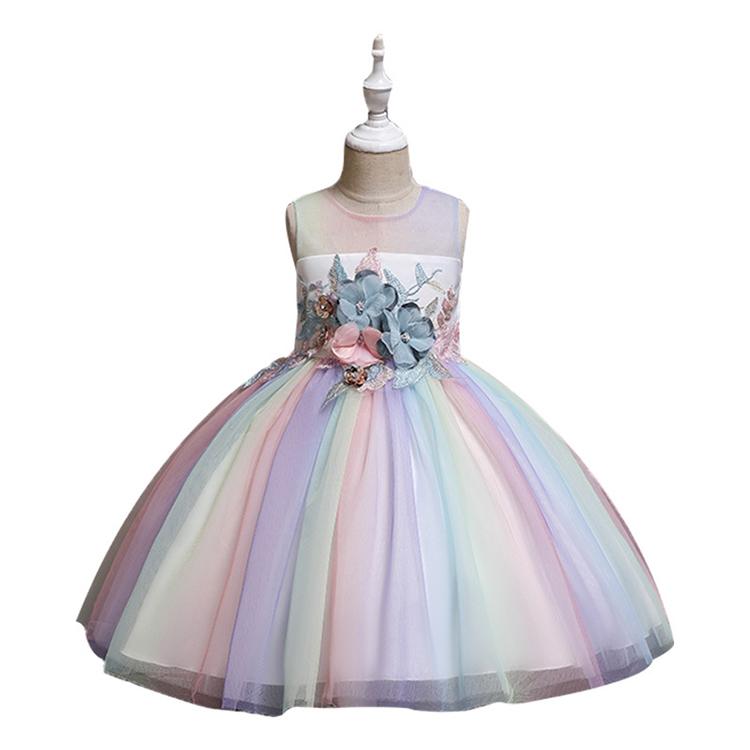 Venta Al Por Mayor Vestidos Elegantes De Niña Para 3 Años