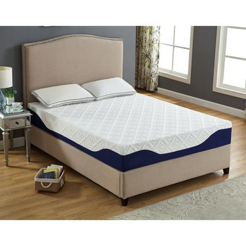 gel mattress memory foam in pvc bag in a box china company full queen king size bedroom bed gel materasso Hotel in una scatola