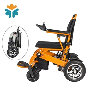 Manual Medical Care Lightweight Foldable Power Lithium Battery Wheel Chair For Electric Wheelchair