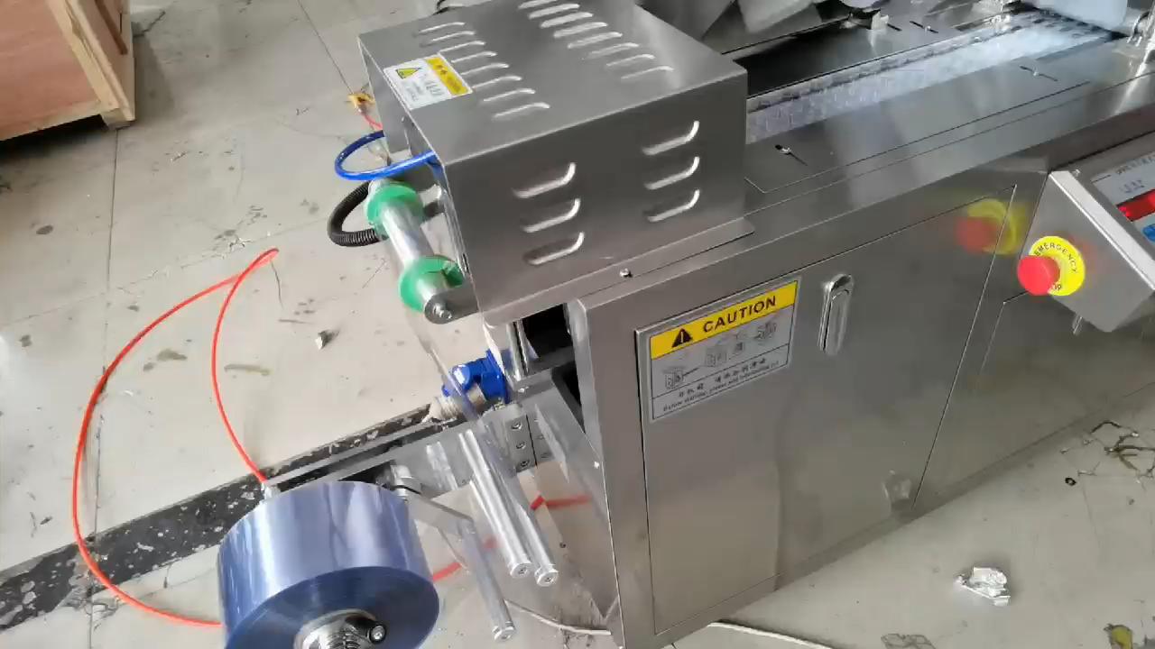Pequena máquina de embalagem da bolha para o tablet, embalagem cápsula