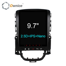 "Ownice C600 Vertical 9.7 ""Carro Android Media Convexo Estéreo Bluetooth DVD Player"