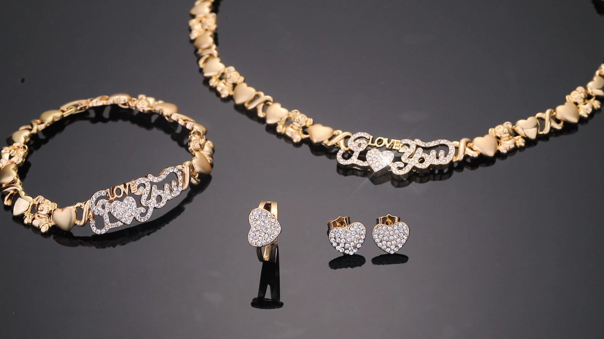 Xoxo Gold gefüllt schmuck mode schmuck 2020 14k gold schmuck großhandel