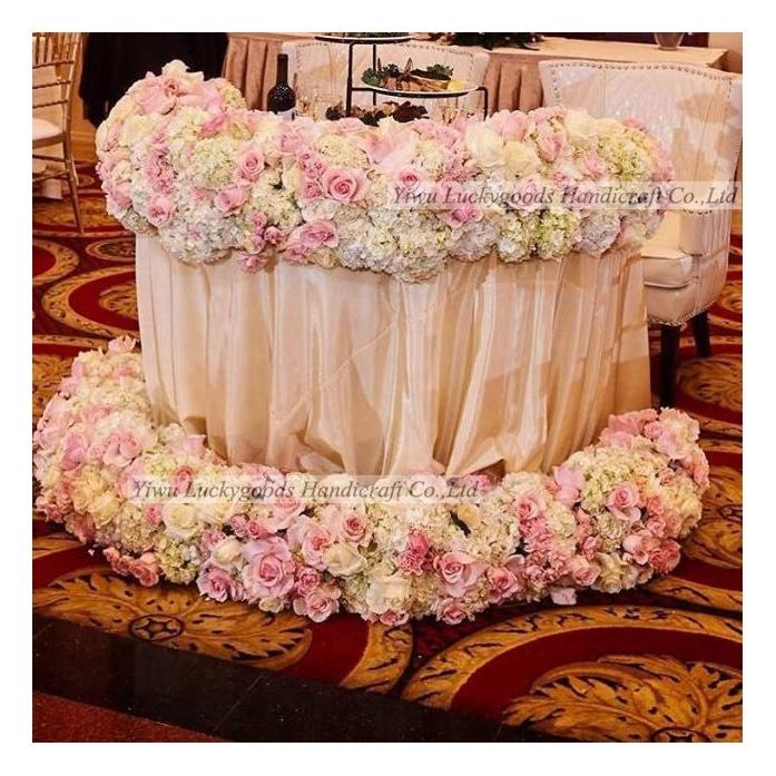 LFB537 Luxury handmade silk table wedding decoration artificial flowers