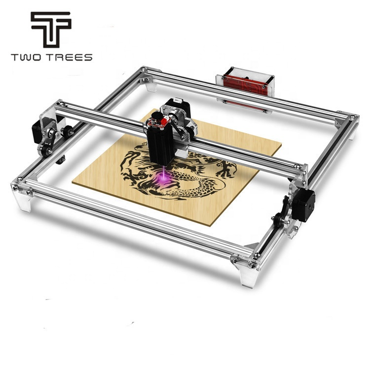 TWOTREES 5.5W 2500MW 40x30cm Desktop wood /Bamboo/Leather engraving CNC DIY <strong>laser</strong> engraving machine cnc <strong>laser</strong>