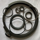 high pressure PTFE piston ring filled Carbon Guide/Wear Ring