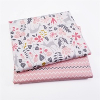 Kids Printed 100% cotton Sewing Upholstery fabric for home textile material