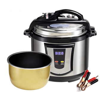 24v dc electric pressure cookers 250W-300W multi purpose cooking not just rice