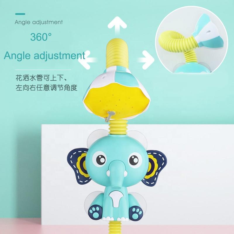 New Baby bath toy animal plastic toys spray water electric shower sprinkler bath water game bath toys